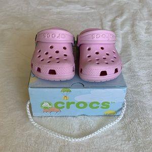 Crocs size 2/3 infant